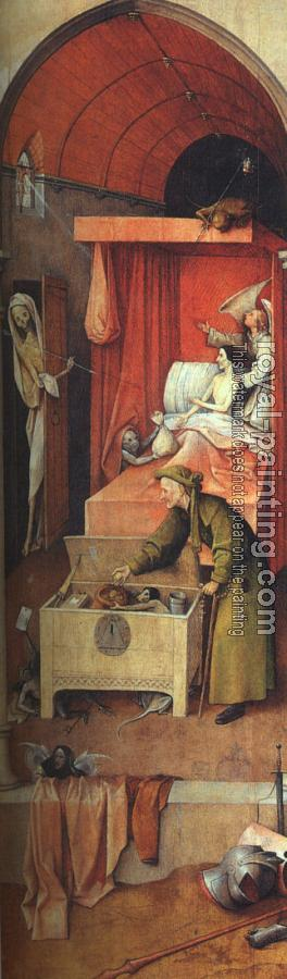 Hieronymus Bosch : Death and the Miser