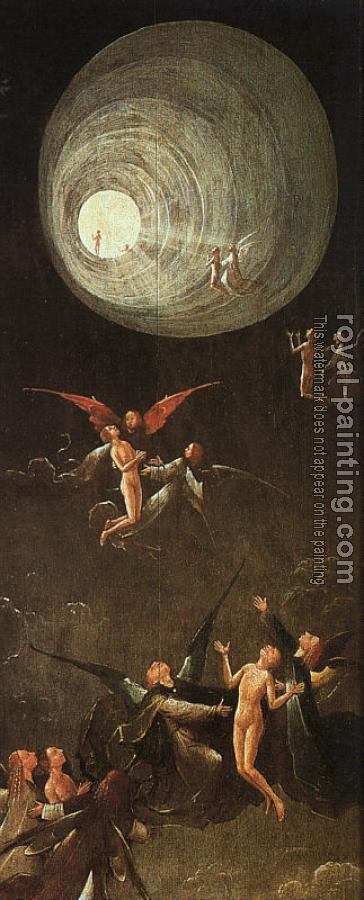 Hieronymus Bosch : Ascent of the Blessed, from the Paradise and Hell panels normally attributed to Bosch
