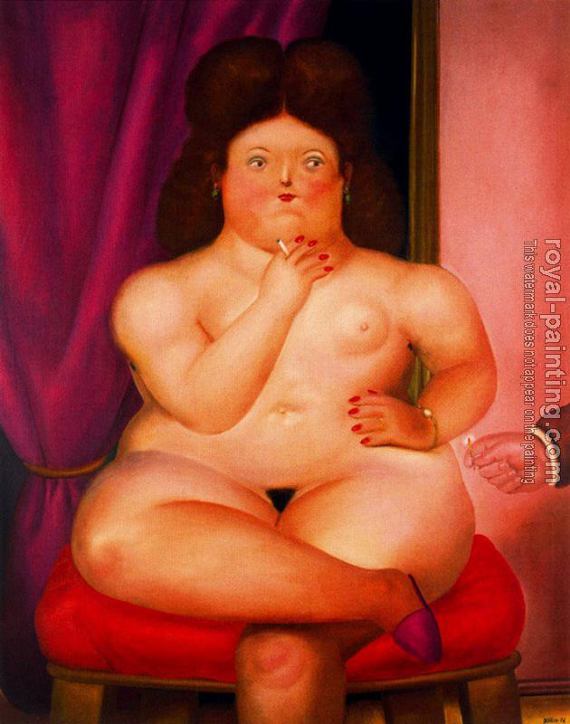 Fernando Botero : Seated Woman