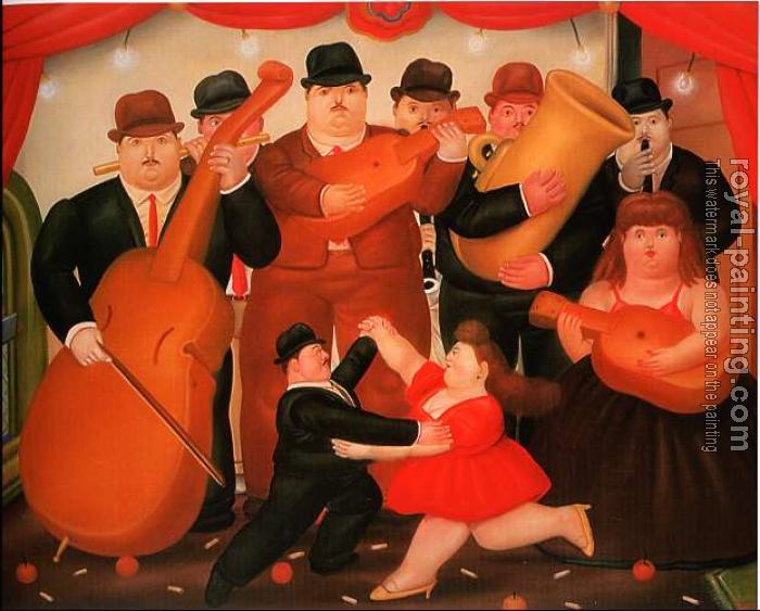 Fernando Botero : Ball In Colombia