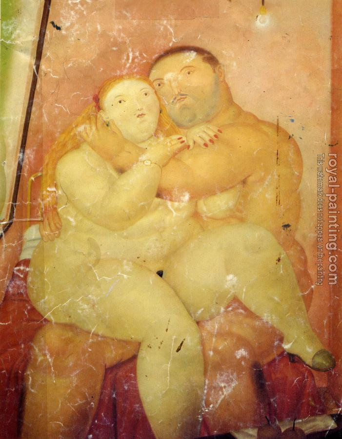 Fernando Botero : The Lovers