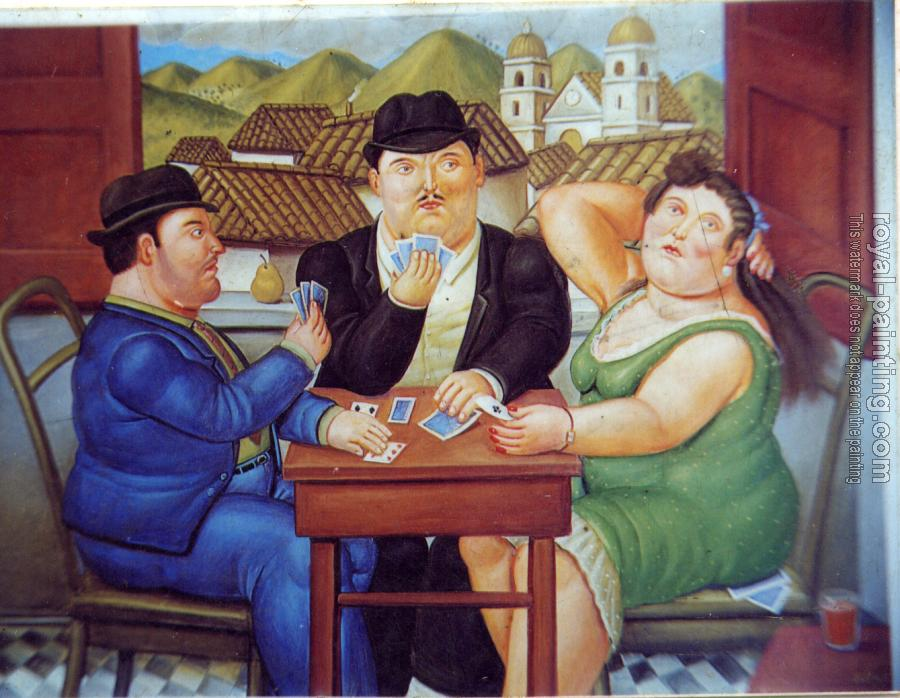Fernando Botero : The Card Player