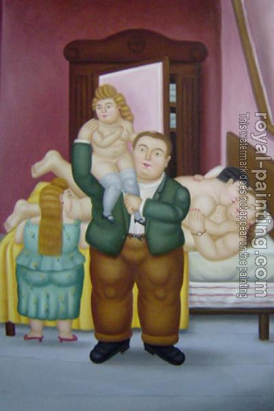 Fernando Botero : The House Of Amanda Ramirez