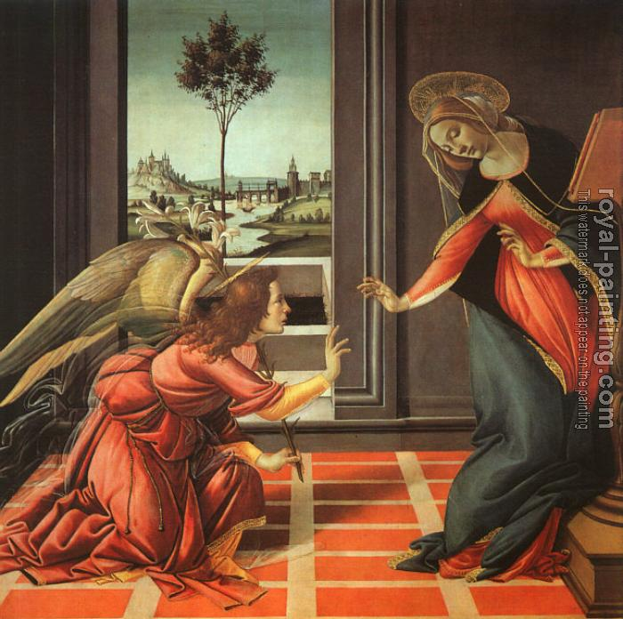 Sandro Botticelli : The Annunciation
