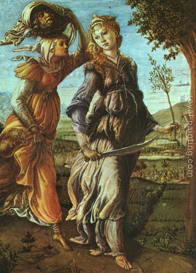 Sandro Botticelli : The Return of Judith