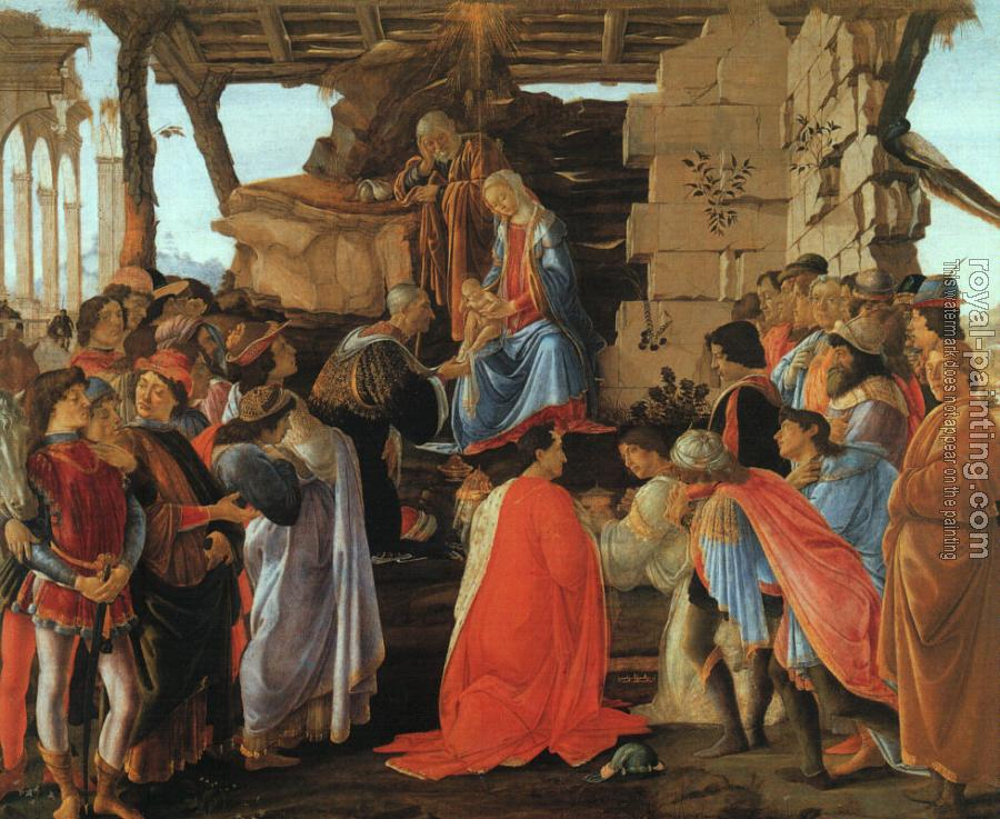 Sandro Botticelli : The Adoration of the Magi
