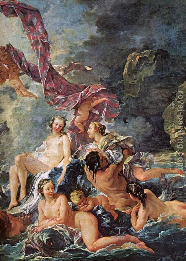 Francois Boucher : The Triumph of Venus, detail