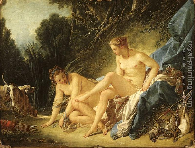 Francois Boucher : Diana Leaving her Bath