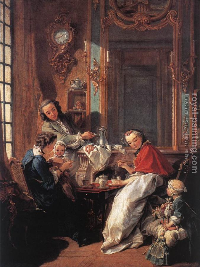 Francois Boucher : The Afternoon Meal