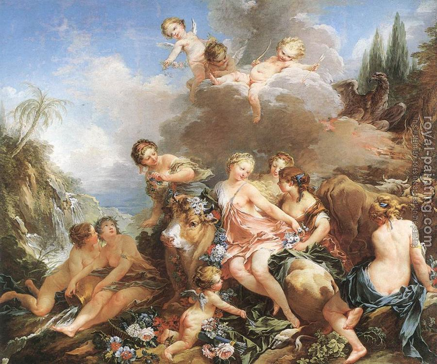 Francois Boucher : The Rape of Europa