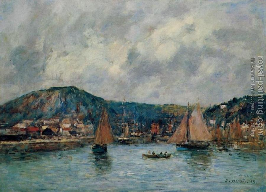 Eugene Boudin : Cherbourg, the Port