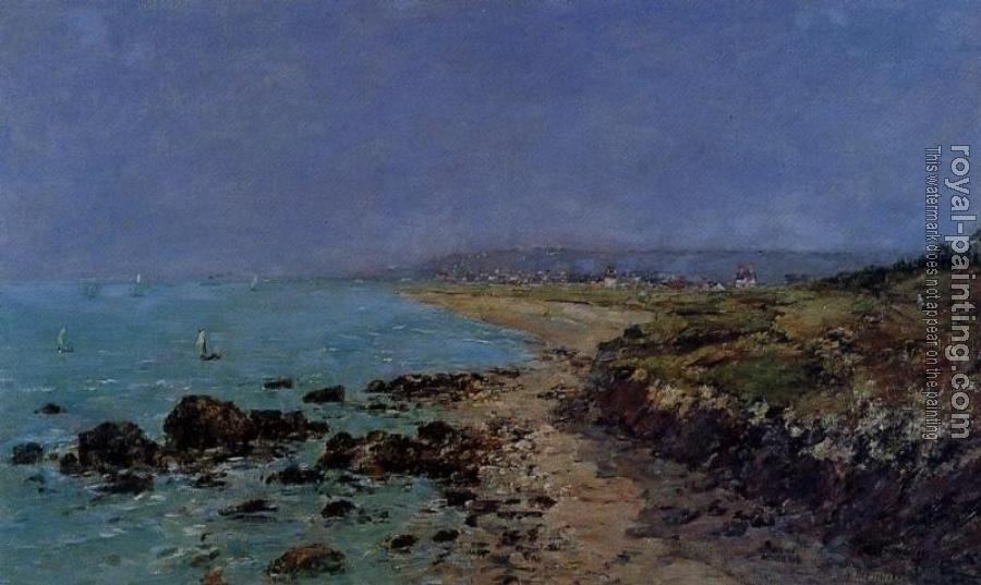 Eugene Boudin : Douarnenez, the Shore and the Bay