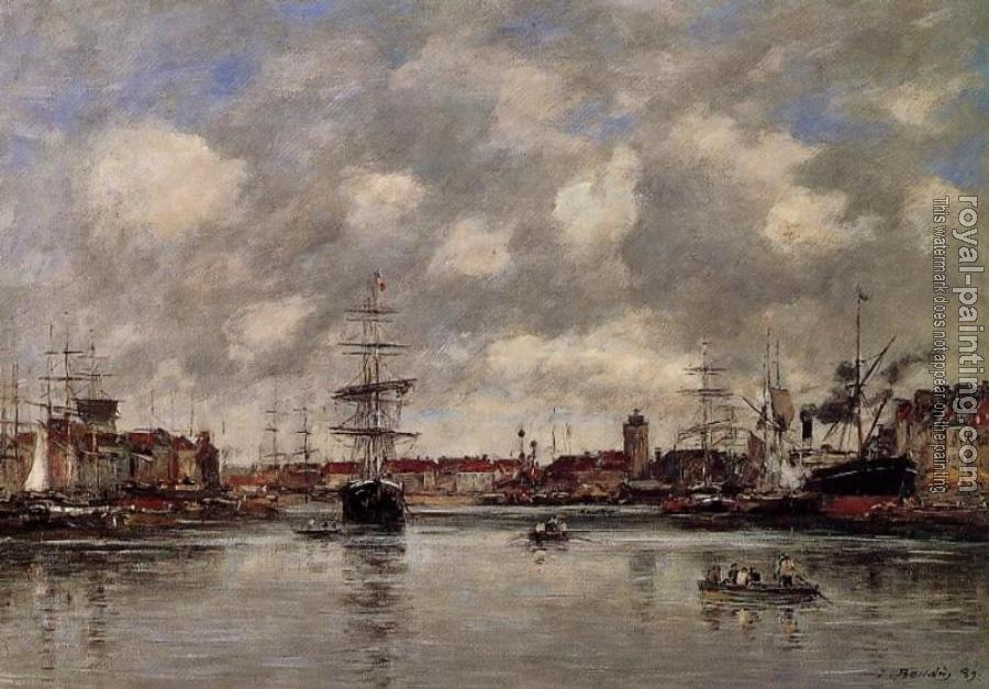 Eugene Boudin : Dunkirk, the Hollandaise Basin