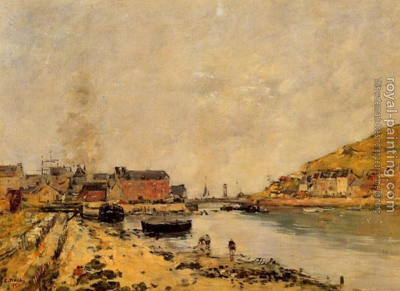 Eugene Boudin : Fecamp, the New Basin