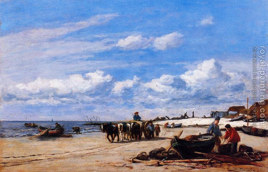 Eugene Boudin : In the Vicinity of Honfleur