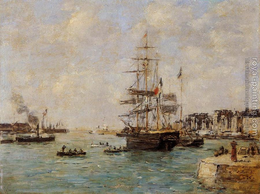 Eugene Boudin : Le Havre, the Outer Port