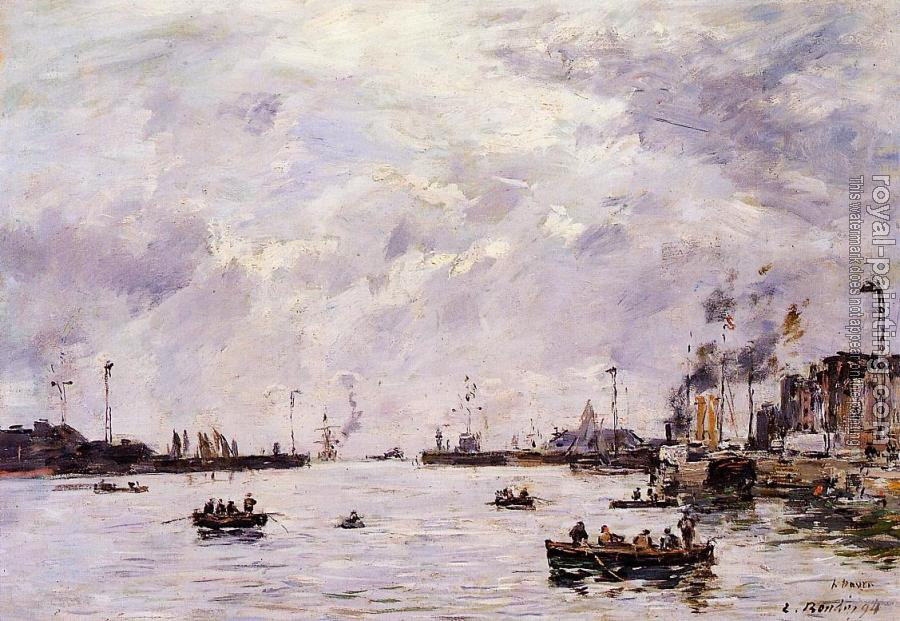 Eugene Boudin : Le Havre, the Outer Port II