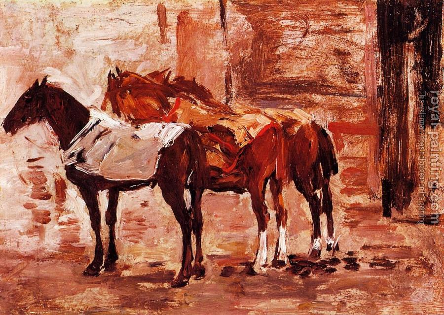 Eugene Boudin : Norman Trotters