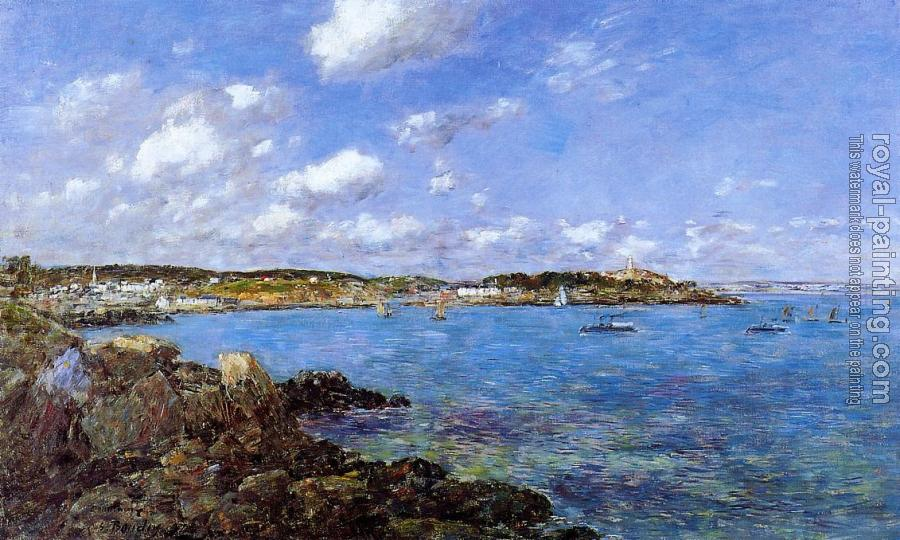 Eugene Boudin : The Bay of Douarnenez II