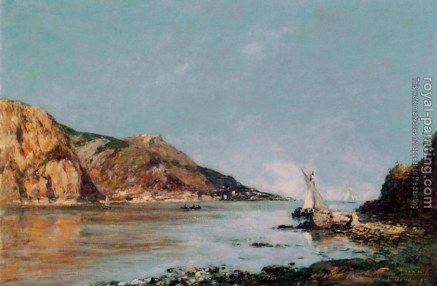 Eugene Boudin : The Bay of Fourmis, Beaulieu