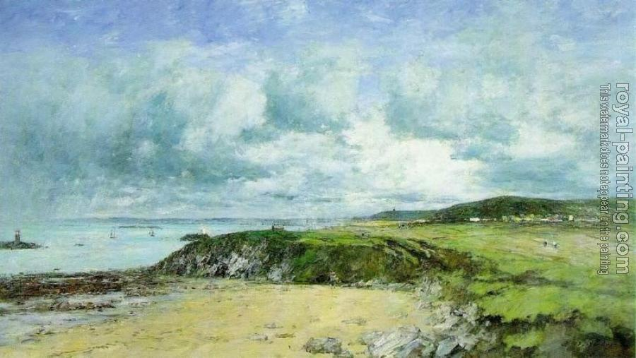 Eugene Boudin : The Coast of Portrieux