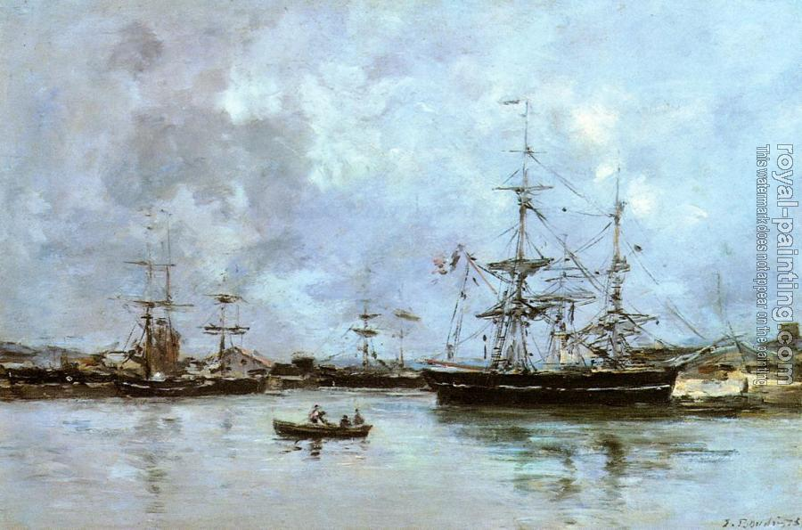 Eugene Boudin : The Port of Deauville