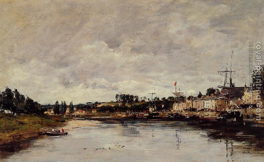 Eugene Boudin : The Somme at Saint-Valery-sur-Somme