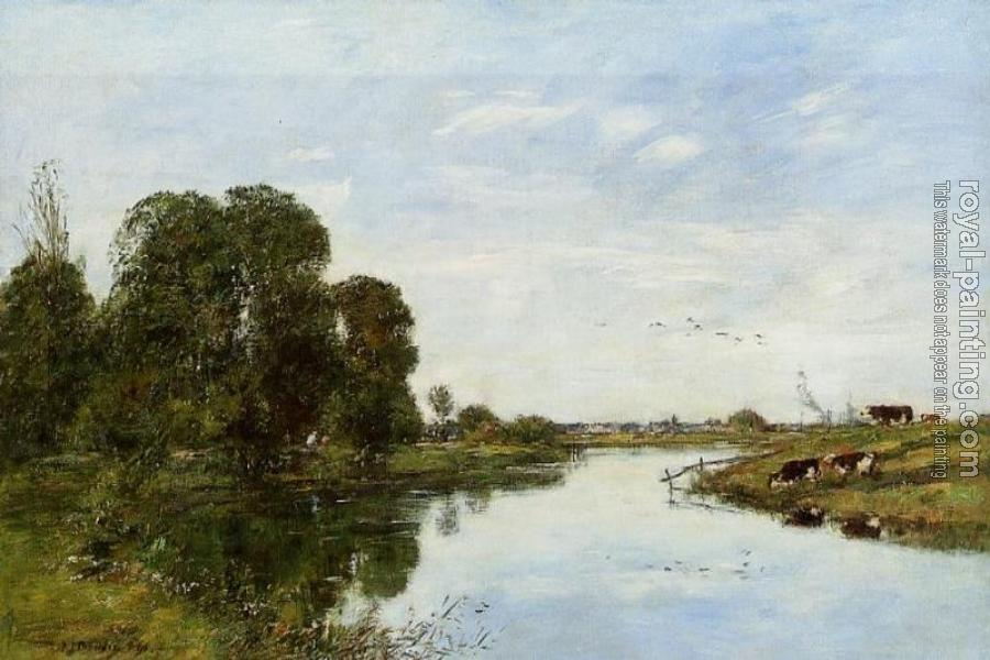 Eugene Boudin : The Toques at Saint-Arnoult II