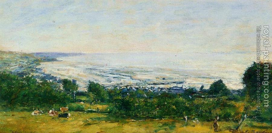 Eugene Boudin : The Trouville Heights