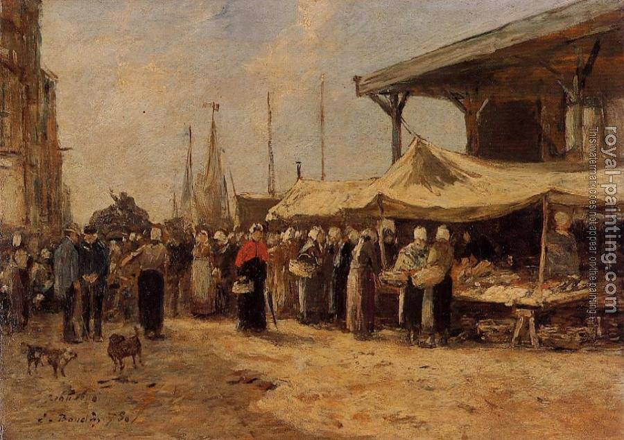 Trouville, Fish Market II