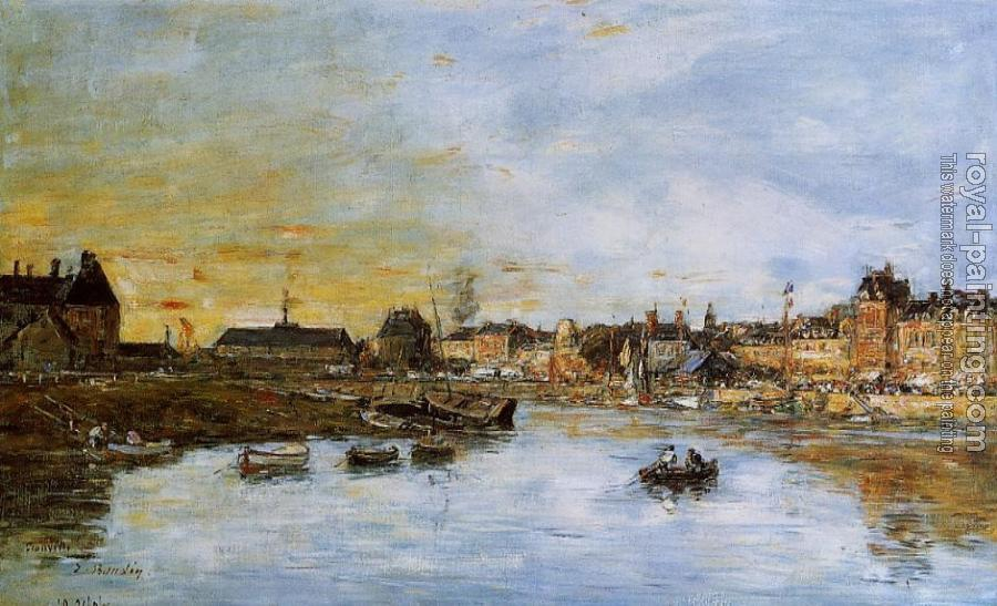 Eugene Boudin : Trouville, the Port II