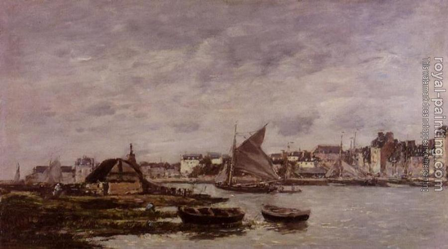 Eugene Boudin : Trouville, the Port III