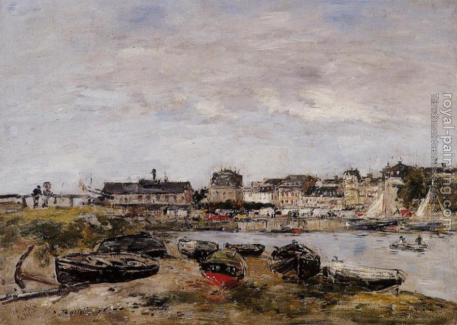 Eugene Boudin : Trouville, View from Deauville, a Day in March