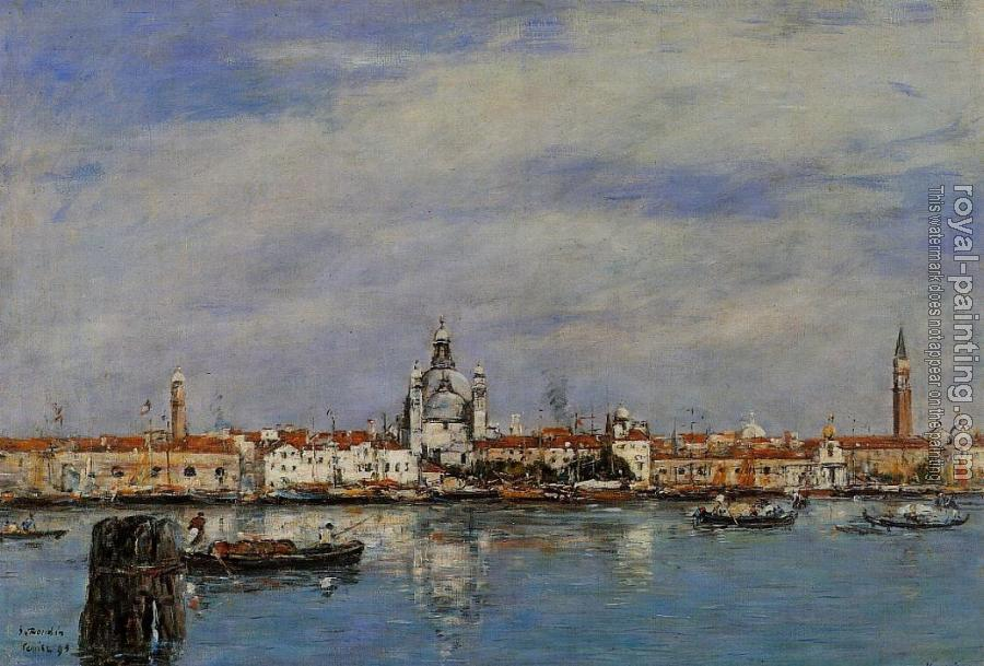 Eugene Boudin : Venice, the Grand Canal
