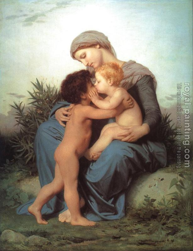 William-Adolphe Bouguereau : Fraternal Love