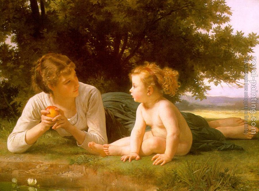 William-Adolphe Bouguereau : Temptation