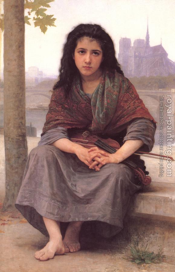 William-Adolphe Bouguereau : The Bohemian