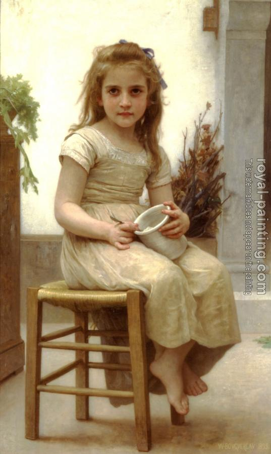 William-Adolphe Bouguereau : Just a Taste