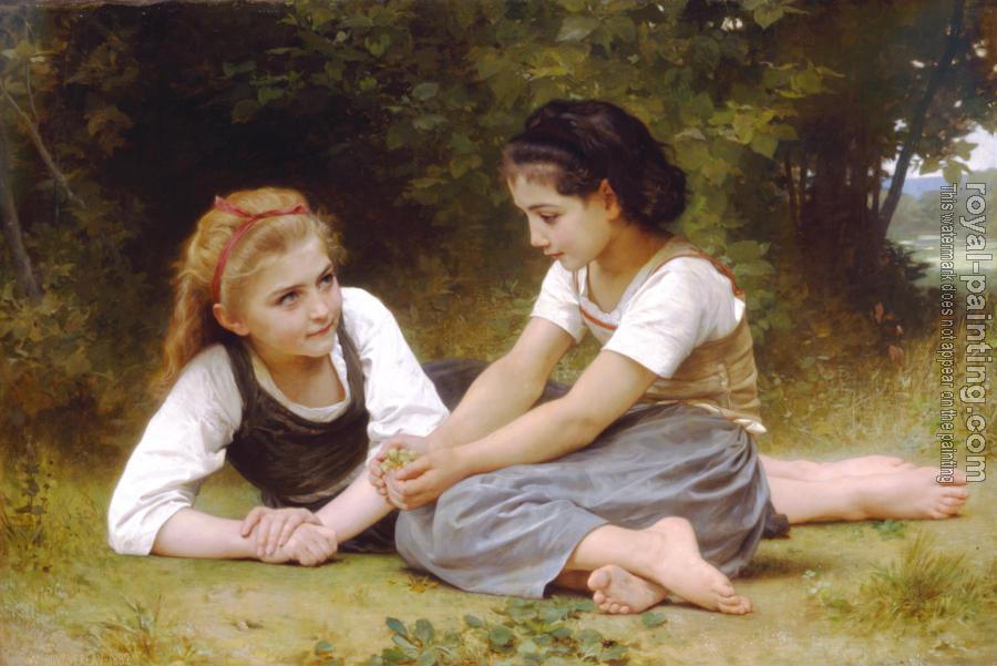 William-Adolphe Bouguereau - Hazelnuts