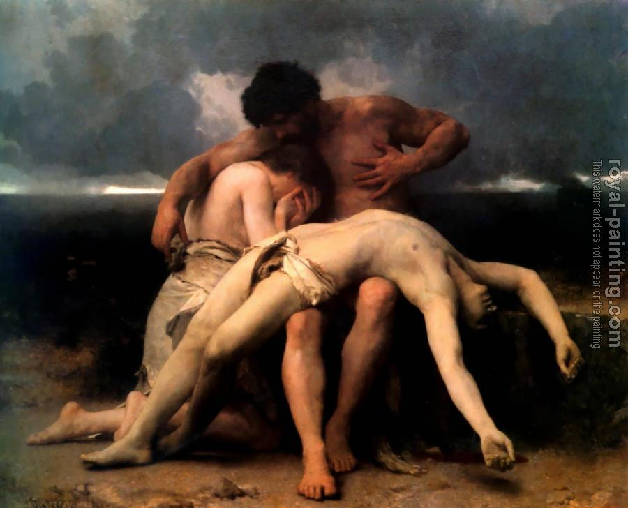 William-Adolphe Bouguereau : The First Mourning