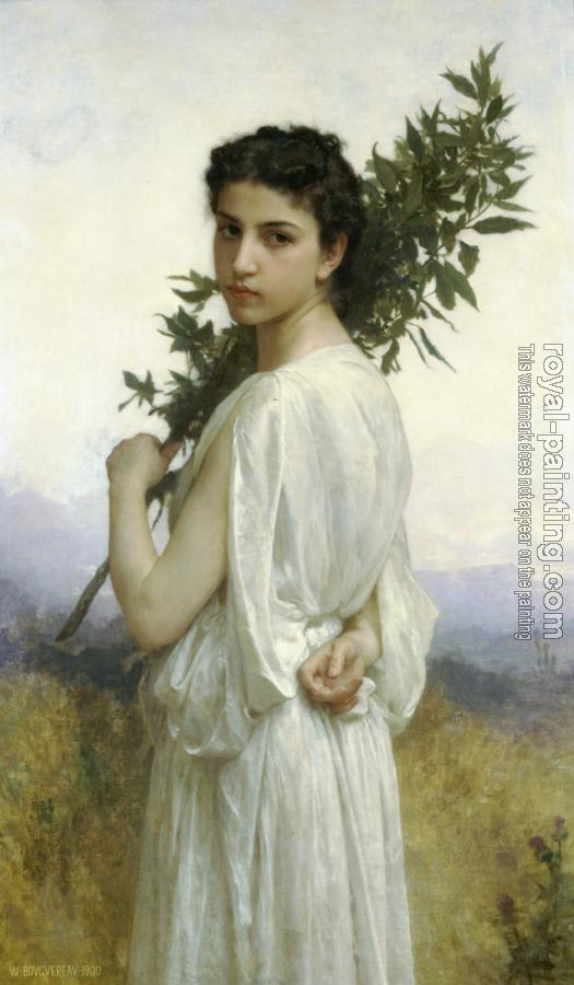 William-Adolphe Bouguereau : Laurel Branch