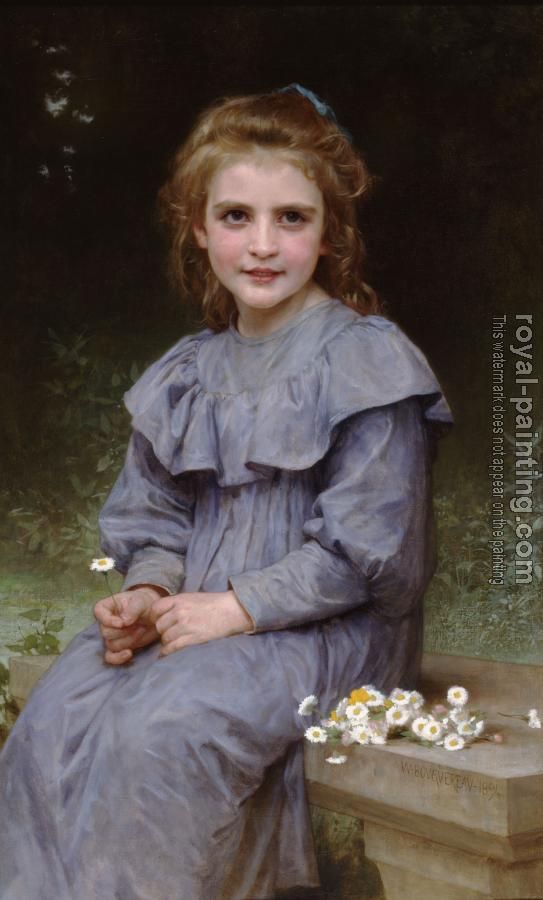 William-Adolphe Bouguereau : Paquerettes (Daisies)