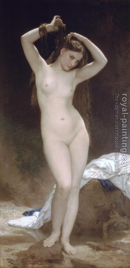 William-Adolphe Bouguereau : Baigneuse(Bather)