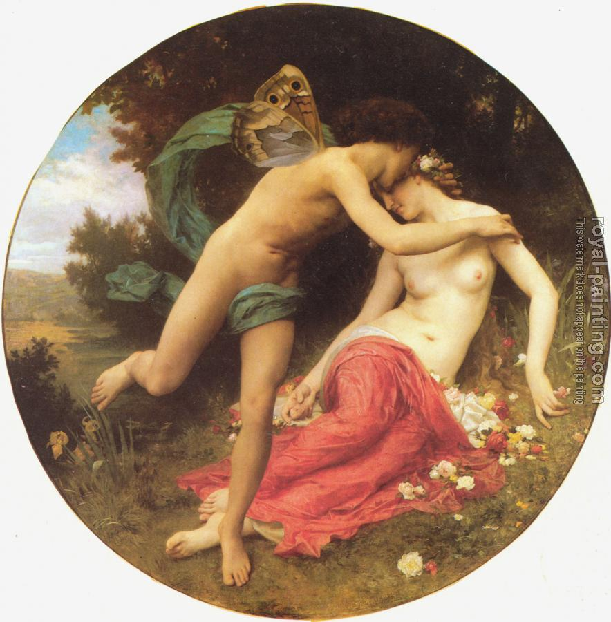 William-Adolphe Bouguereau : Flore et Zephyre(Flora and Zephyr)