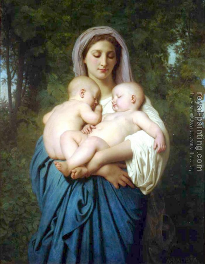 William-Adolphe Bouguereau : La Charite (Charity)