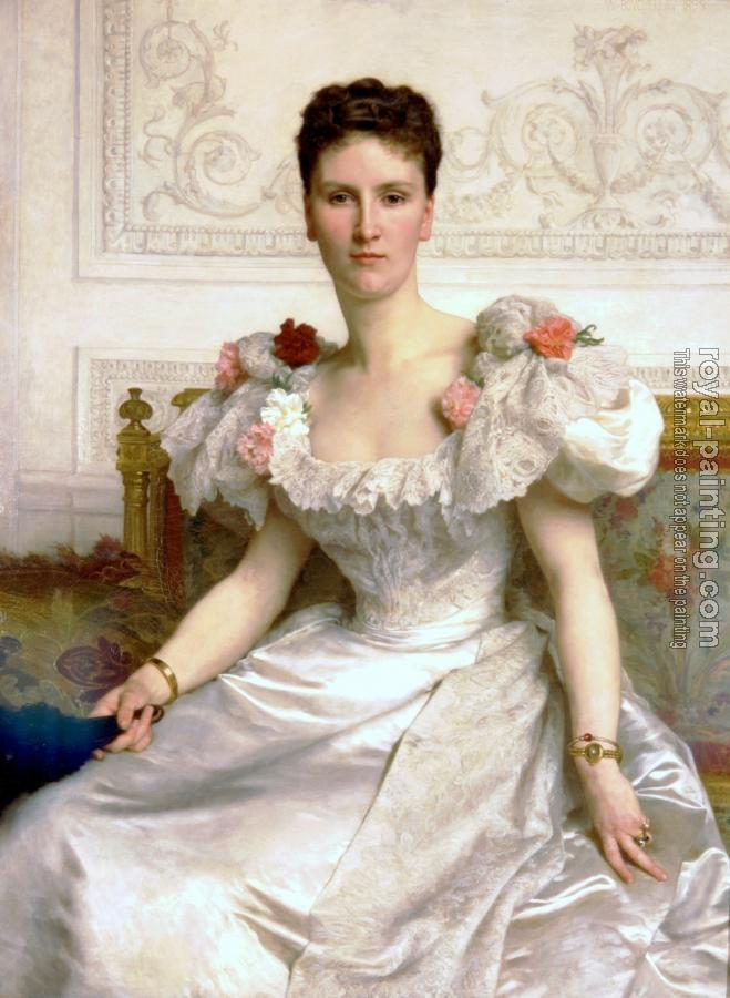 William-Adolphe Bouguereau : Madame la Comtesse de Cambaceres (Madam the Countess of Cambaceres)