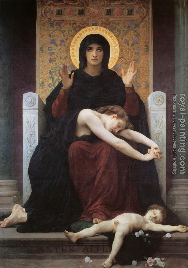 William-Adolphe Bouguereau : Vierge Consolatrice (The Virgin of Consolation)
