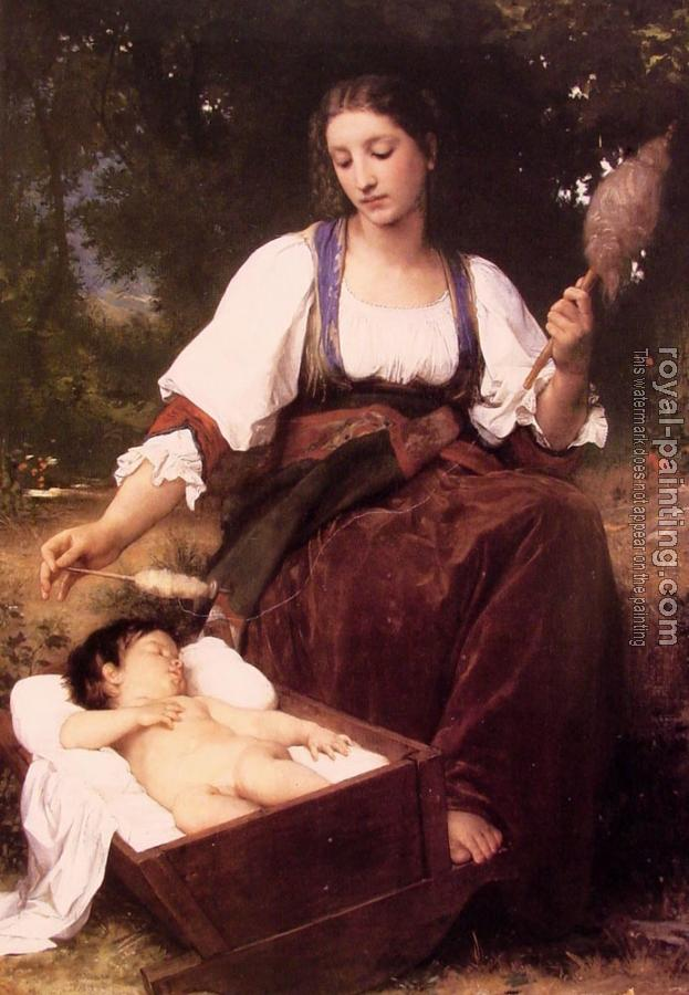 William-Adolphe Bouguereau : Berceuse , Lullaby