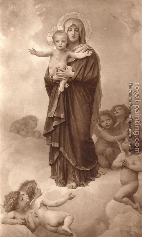 William-Adolphe Bouguereau : Notre-Dame des Anges, Our Lady of the Angels