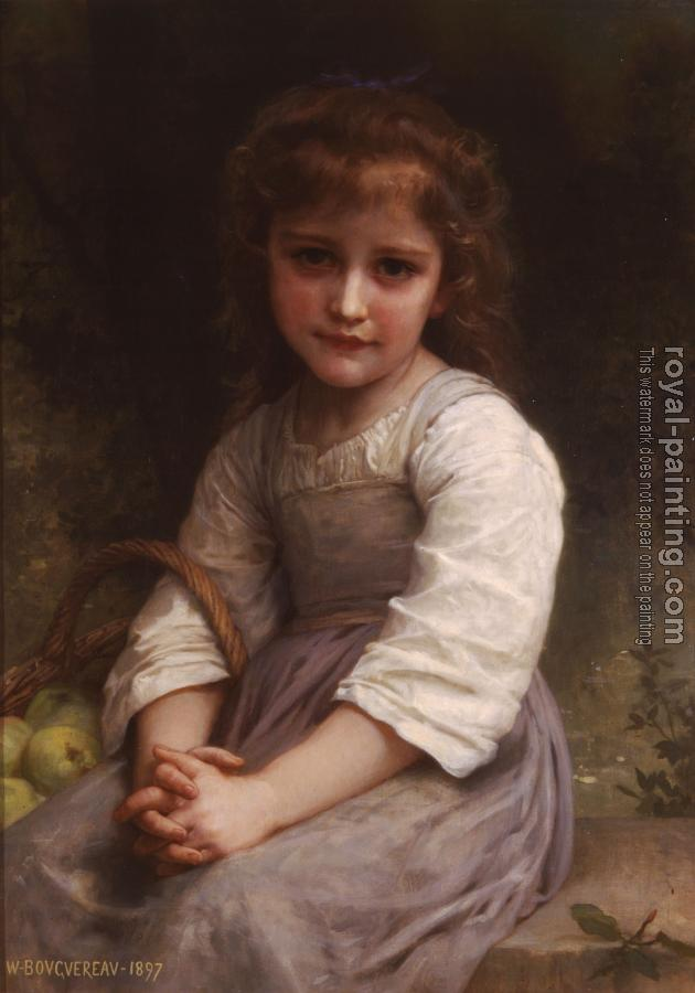 William-Adolphe Bouguereau : Les pommes, Apples